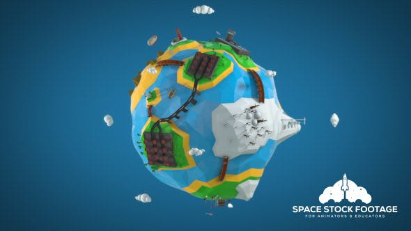 Thumbnail for Low Poly Earth