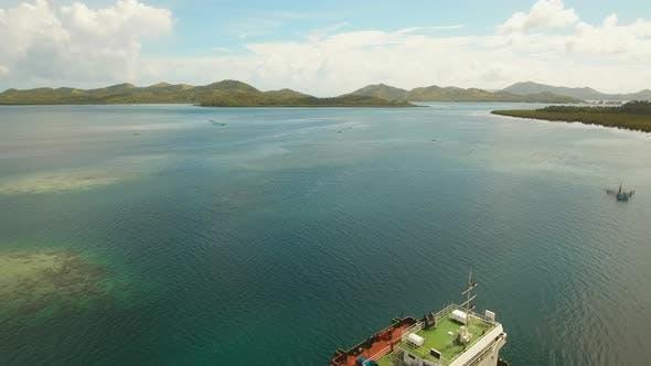 Thumbnail for Cargo Ship in the Sea.