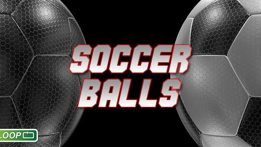 Thumbnail for Soccer Balls Hexagon