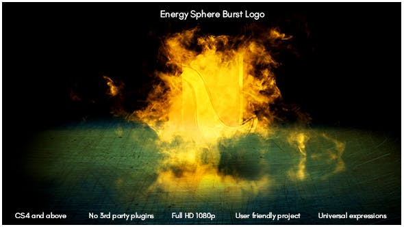 Thumbnail for Energy Sphere Burst Logo