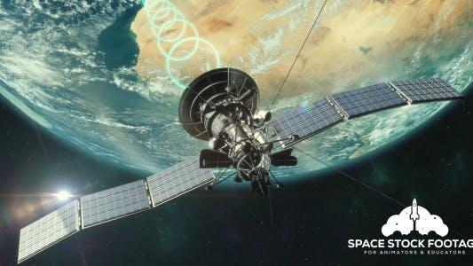 Thumbnail for Satellite Transmitting