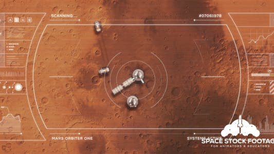 Thumbnail for Mars Base From Orbit