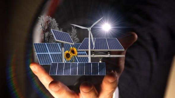 Thumbnail for Renewable Wind & Solar Energy