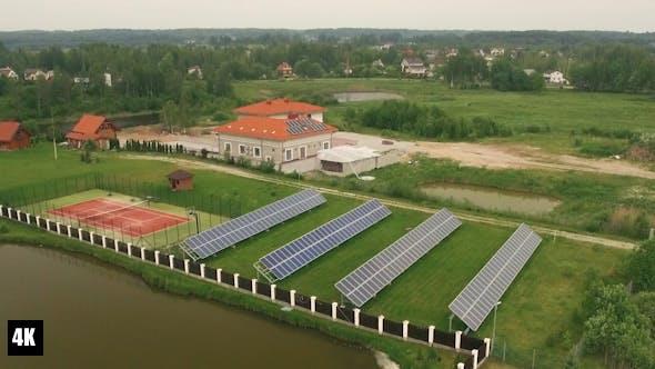 Thumbnail for Modern Building Development Including Solar Batteries