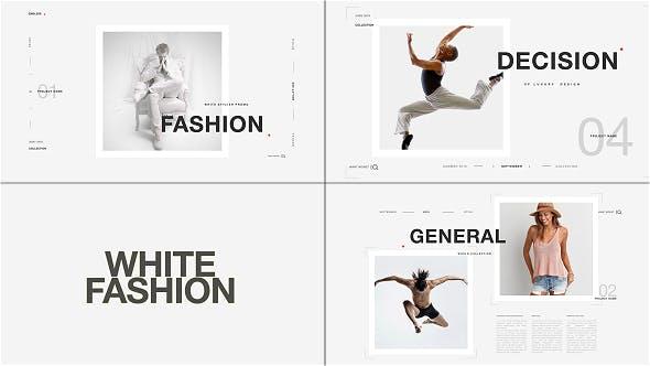White Fashion Promo