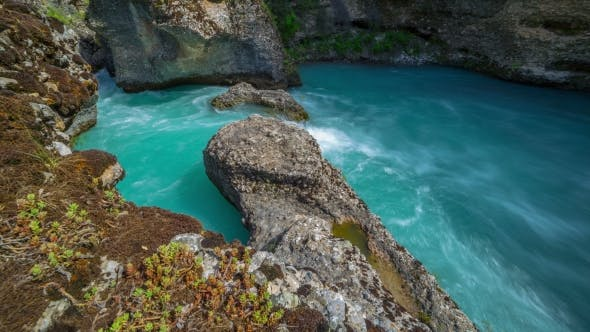 Thumbnail for Rapid Mountain River In a Canyon Of Aksu, Kazakhstan -