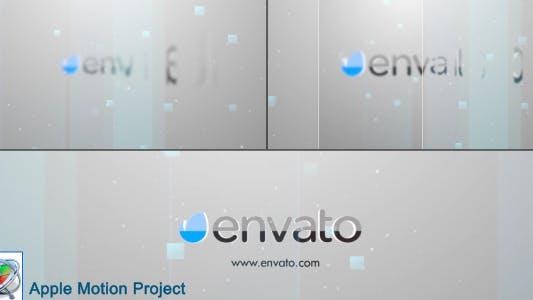 Thumbnail for Minimal Glass Logo - Apple Motion