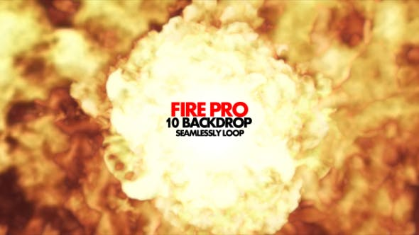 Thumbnail for Fire Pro - 10 Backdrops