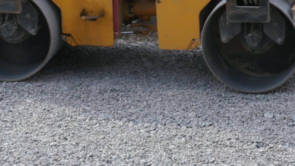 Thumbnail for Road Roller On Repairing Of The Road