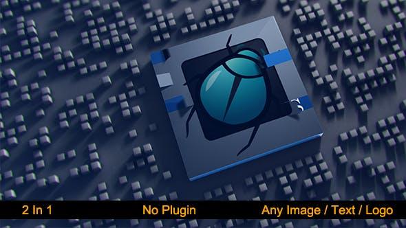 Thumbnail for Elegant Cube Logo Revelar