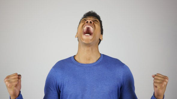 Scream by Black Man