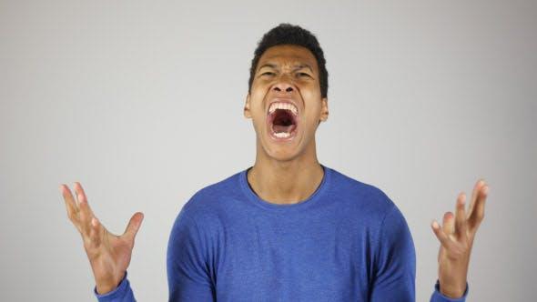 Screaming Black Man