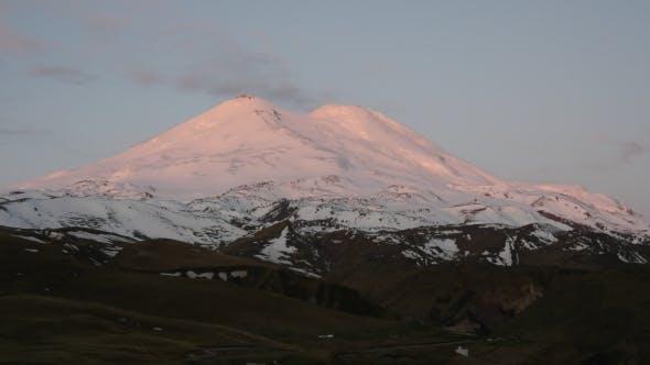 Sunrise On Mount Elbrus