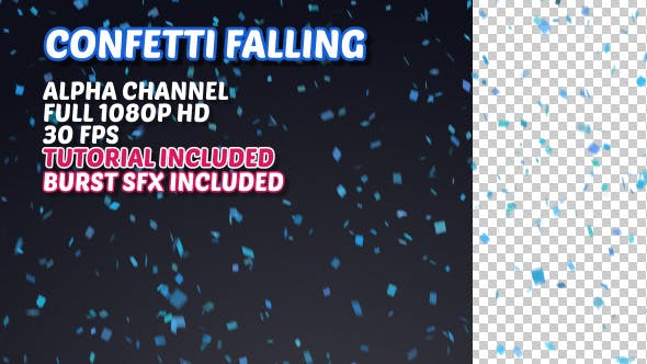 Thumbnail for Confetti Falling