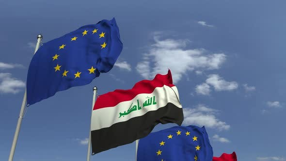 Thumbnail for Flags of Iraq and the European Union