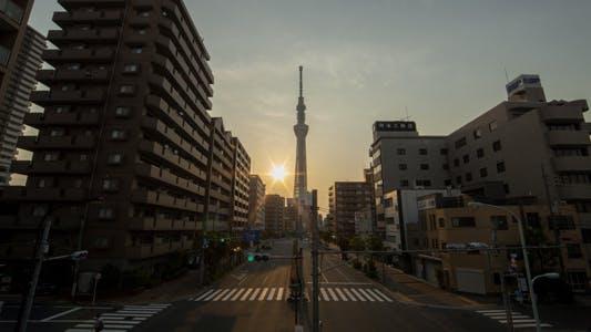 Thumbnail for Tokyo Street Sunrise