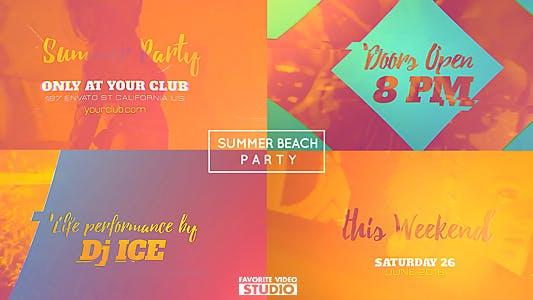 Thumbnail for Summer Beach Party