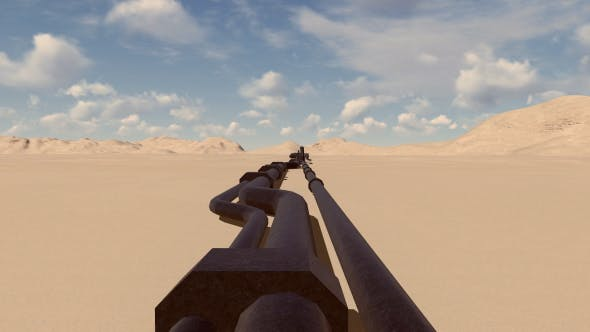 Thumbnail for Pipeline Oil Transportation And Desert