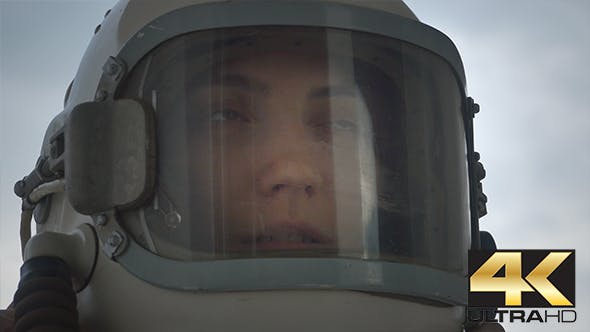 Thumbnail for Woman Astronaut Talking