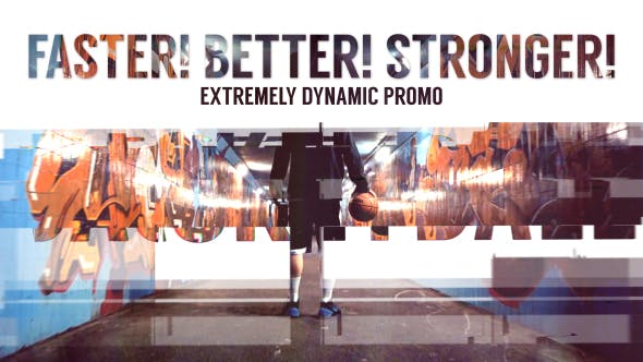 Faster Better Stronger // Dynamic Slideshow - product preview 0