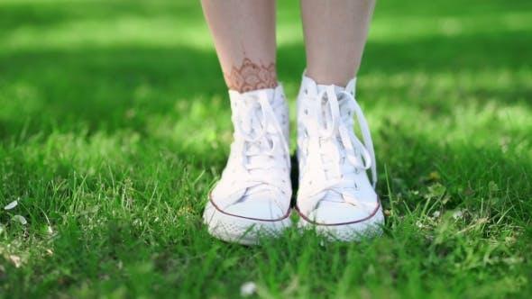Thumbnail for .  Photo Of Hipster Girl Legs.
