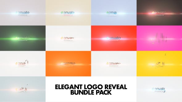 Thumbnail for Elegant Logo Reveal Bundle Pack