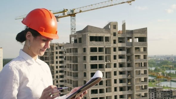 Thumbnail for Architect Looking on Project on Construction Site