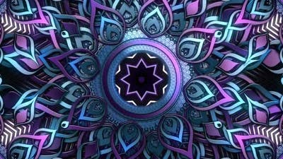Purple Mandalaz