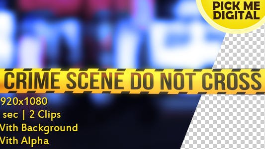 Thumbnail for Crime Scene Tape Version 01