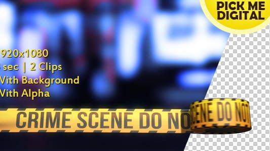 Cover Image for Crime Scene Tape Version 02