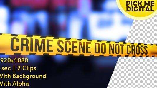 Cover Image for Crime Scene Tape Version 03
