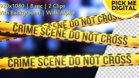 Thumbnail for Crime Scene Tape Version 04