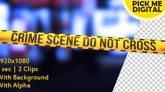 Cover Image for Crime Scene Tape Version 05
