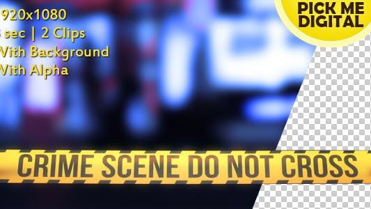Thumbnail for Crime Scene Tape Version 06