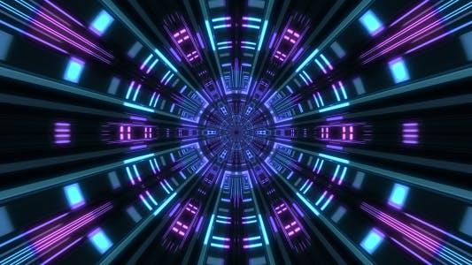 Thumbnail for Abstract Light Rays Circle 02