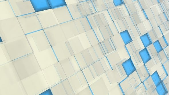 Thumbnail for Abstract White And Blue Corporate Background