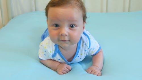 Porträt von Liebenswert Baby