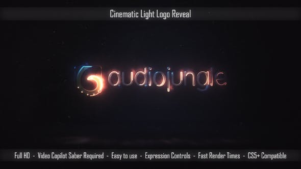 Thumbnail for Logo Cinématographique Light Reveal