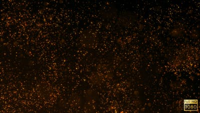 Sparkling Fire Background