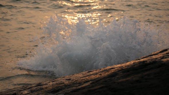 Thumbnail for Sea Splashing On Stone