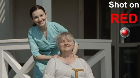 Thumbnail for Massage of Senior Woman