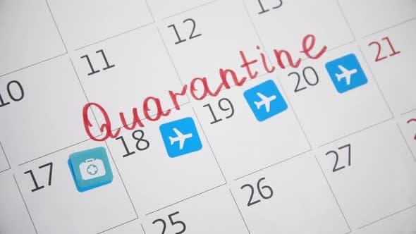 Thumbnail for Canceled flight due to coronavirus pandemic