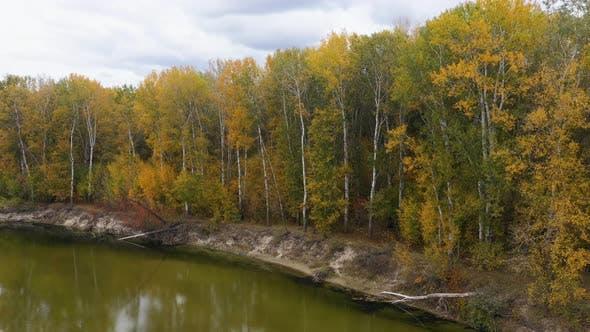 Thumbnail for Amazing River Landscape at Autumn.
