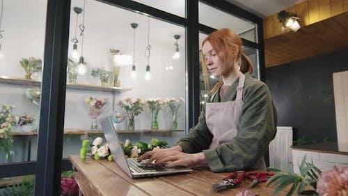 Florists Working In Cozy Flower Shop