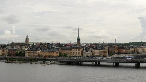Cover Image for Time lapse from Södermalm over Gamla Stan old town