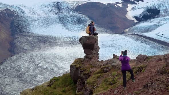 Thumbnail for Tourists in the Mountains of Iceland