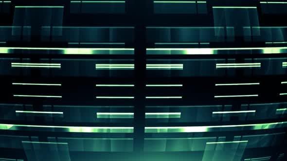 Thumbnail for Elegant Tech Circles Green V04