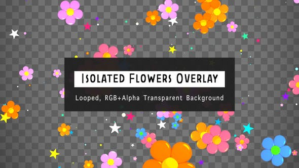 Thumbnail for Isolated Flowers Overlay