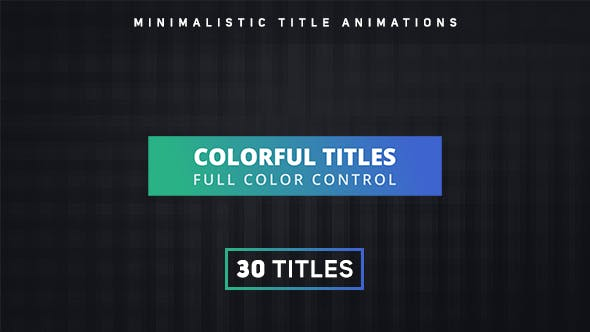 Thumbnail for Titres colorés