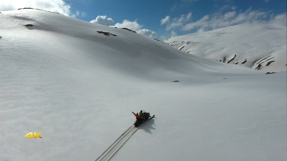 Thumbnail for Aerial Snowmobile